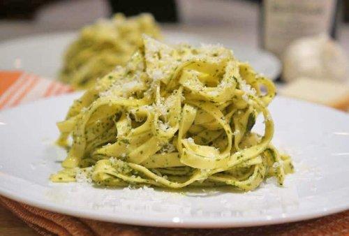 Delicious Pesto Tagliatelle Pasta Recipe