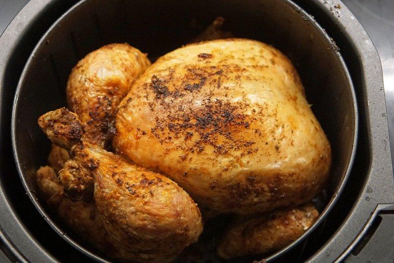 Easy Air Fryer Whole Chicken Recipe