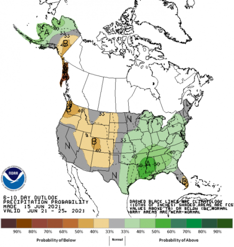 Iowa DNR: Rain looms, but so does another dry spell