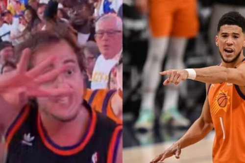 Report: Devin Booker to send Suns fan who got in fight with Nuggets fan signed jersey and tickets to conference finals
