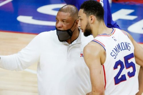 Doc Rivers on convincing Ben Simmons to stay: 'There's times that I think that I'm talking to people who still believe Trump won the election'