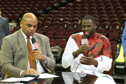 Draymond Green was ready to fight Charles Barkley when joining him on set: 'I'm not saying a f—–g word to him'