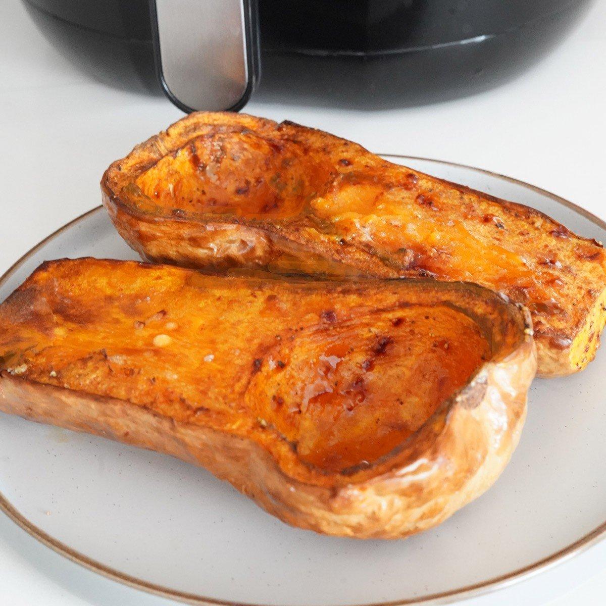 Air Fryer Butternut Squash (Halves)