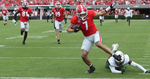 No. 1 Georgia closer to full strength at receiver