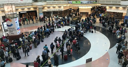 Hartsfield-Jackson lines snake through terminal as travel ramps up