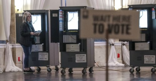 Georgia releases list of 102K voter registrations to be canceled