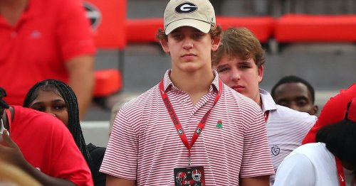 Arch Manning sees name in red and black on Georgia visit