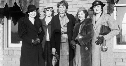 Amelia Earhart's 1934 weekend Atlanta flyover