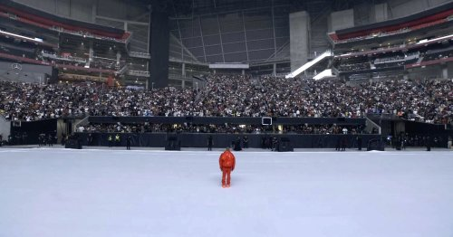 Kanye West holding another listening party at Mercedes-Benz Stadium