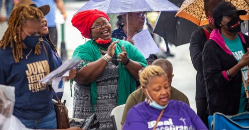 Stone Mountain holds first Juneteenth celebration
