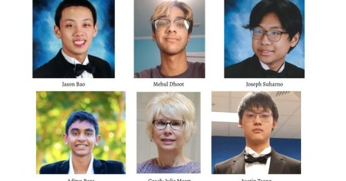Johns Creek students are finalists in math competition