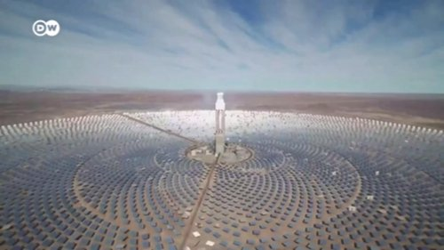 Chile catches the sun with 10,000 mirrors