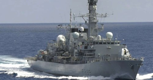 China accuses UK of 'evil intentions' after British frigate makes rare sailing through Taiwan Strait