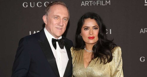 When Salma Hayek Thought Hubby François-Henri Pinault Was Cheating On Her, But She Didn't Expect What It Turned Out To Be!
