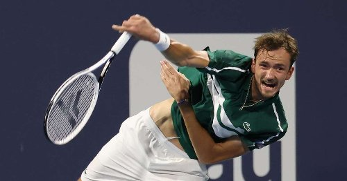 World No. 2 Daniil Medvedev tests positive for COVID-19, out of Monte Carlo Masters