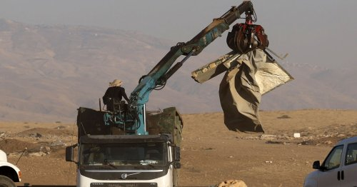 Israel continues demolition of Palestinian homes in the West Bank
