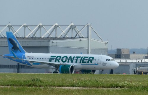 Frontier Airlines employees suspended after passenger duct-taped to seat