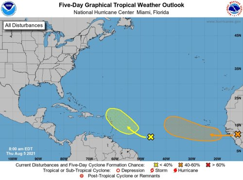 Forecasters track what could become next tropical storm