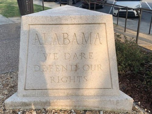 This is not acceptable, Alabama