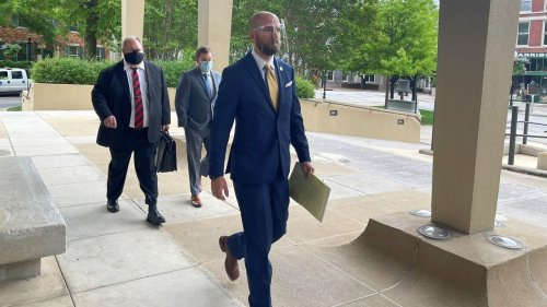 Jury debates fate of Huntsville police officer charged with murder