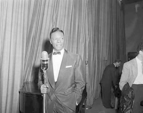 Nat King Cole was beaten on a Birmingham stage 65 years ago today
