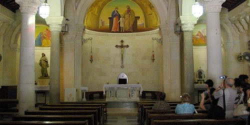 A journey to Jesus' childhood home, the House of St. Joseph