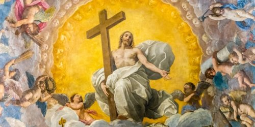 What happened between the resurrection and ascension of Jesus?