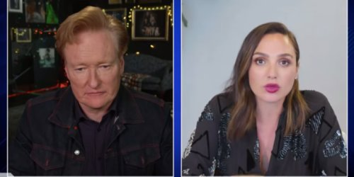 'I'm the Annoying Mom': Gal Gadot Talks Parenting With Conan O'Brien, Teaches Him Hebrew