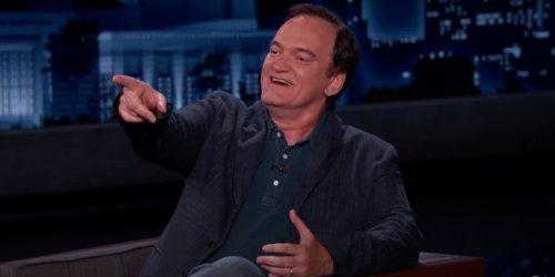 Quentin Tarantino Talks About Living in Israel During Pandemic, Shows Off Hebrew Skills on 'Jimmy Kimmel Live'