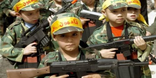 Hamas Freely Admits It Uses Summer Camps to Recruit Child Soldiers