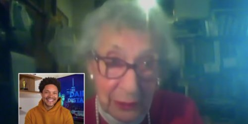 Trevor Noah Hosts 98-Year-Old Jewish Resistance Fighter, Holocaust Survivor on His Comedy Central Show