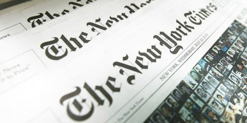 'The New York Times' Repackages a Classic Blood Libel