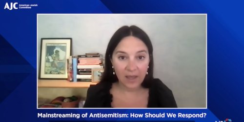 Journalist and Author Bari Weiss Talks Antisemitism, 'Sacrifices of Our Ancestors' in Jewish History