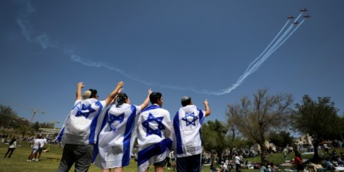 Flyover Celebrates Israel's Independence Amid a Return to Normality