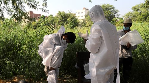 India's new coronavirus infections at lowest in almost a month