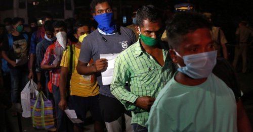 India's Kerala state orders lockdown as COVID cases rise