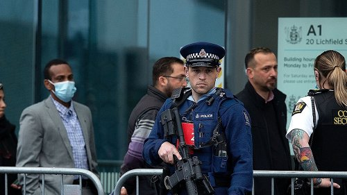 New Zealand arrests two over alleged threat to mosques