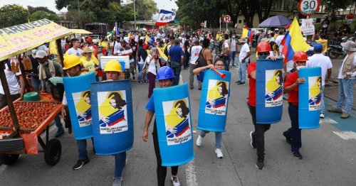 Colombia protest leaders suspending weekly demonstrations