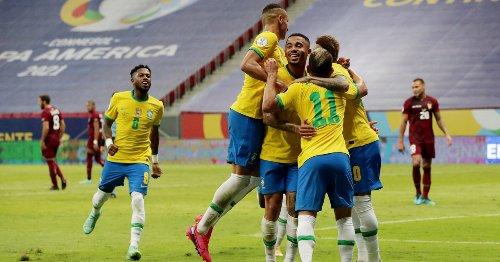 Brazil kick off under-fire Copa America with win over Venezuela