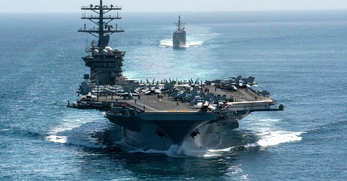 What's behind the significant build-up of US firepower in the Gulf