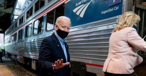'Amtrak Joe': Will Biden's infrastructure plan revive railroads?