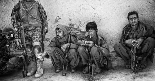 Photographing Afghanistan: 'I was looking at a dead man'