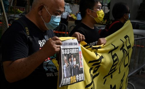 Apple Daily executives face national security charge in HK court