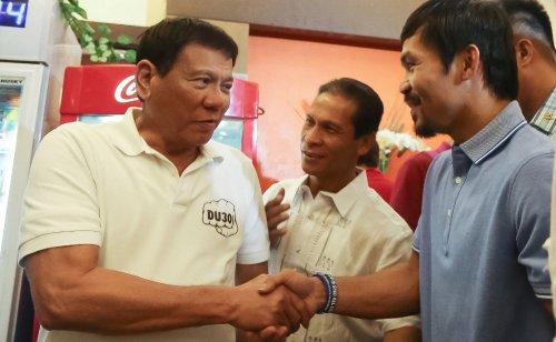 Duterte Pacquiao rift could open door to presidential rivals