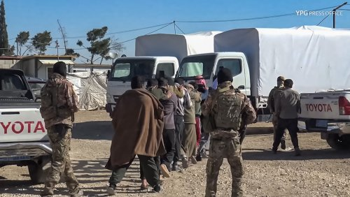 Syria: Syrian kurdish forces arrest several people in anti ISIS operation at al-Hol camp » Wars in the World