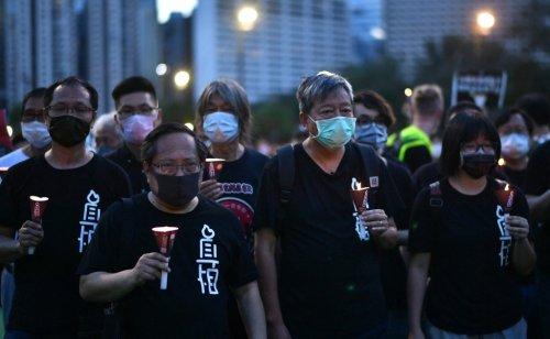 Hong Kong: Tiananmen vigil group disbands after police probe