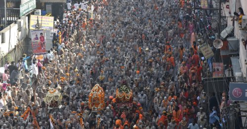 COVID cases across India being traced to weeks-long Kumbh Mela