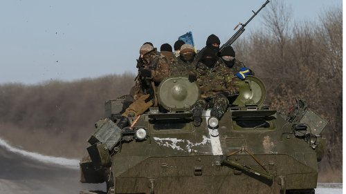 Ukraine says soldier killed in shelling by Russia-backed forces