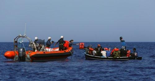Nearly 400 migrants rescued in Mediterranean Sea