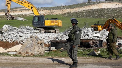 Debt and trauma as Israel destroys Palestinian homes, businesses